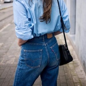 Levi's 550 vintage mom jeans tappered